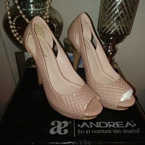 Shoes - **Brand New 7.5 heels, Brand is Andrea